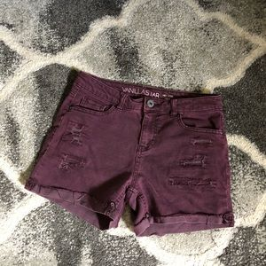 Vanilla Star denim shorts